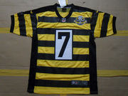 Steelers #7 Ben Roethlisberger 80th Anniversary Throwback JERSEY