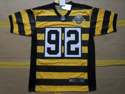2012 James Harrison Pittsburgh Steelers #92 80th Anniversary Throwback