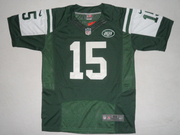 2012 Nike New York Jets #15 Tim Tebow Green Elite Jersey