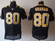 2012 Nike Saints #43 Darren Sproles #80 Jimmy Graham Elite Jersey